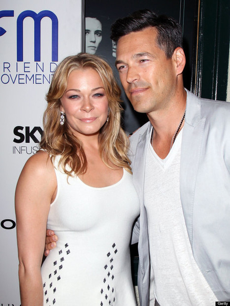 LeAnn Rimes, Eddie Cibrian Hit The Red Carpet (PHOTOS) - Huffington Post | From the red carpet! | Scoop.it