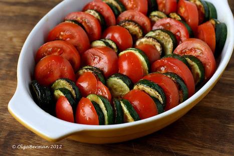 Mango & Tomato: Zucchini, Tomato & Feta Gratin Recipe: Versatile ...   tomatoes   Scoop.it