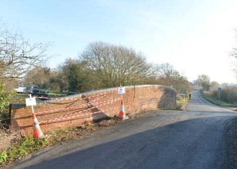 Broughton Lane bridge repaired ahead of schedule - Bucks Herald | Canal Vines | Scoop.it