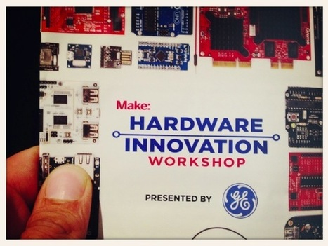 "Talking about the ""Evolution of Microcontrollers"" at the New York Hardware Innovation Workshop 