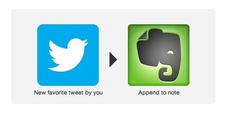 Come salvare un tweet in Evernote aggiungendolo ai preferiti   Social it   Scoop.it