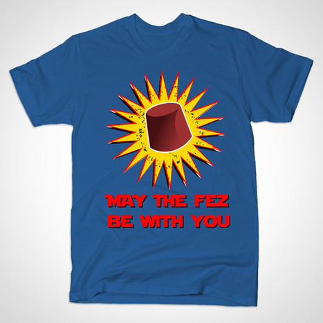 MAY THE FEZ BE WITH YOU by karmadesigner | karmadesigner | Scoop.it