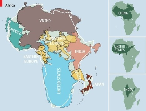 Africa is much, much bigger than you think | The Art of the Startup | Scoop.it