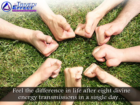 Experience Eight energy transmissions in a single day | Health and Wellness | Scoop.it