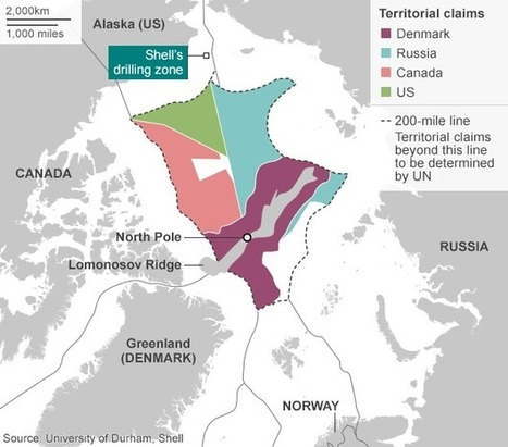 Shell stops Arctic activity after 'disappointing' tests - BBC News | IB Geography ISB | Scoop.it