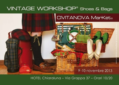 VINTAGE WORKSHOP® Civitanova MarKet© Shoes & Bags | Only the EXTRAordinary | Scoop.it