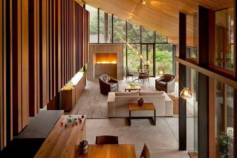 Belle maison bois contemporaine en U au design harmonieux aux USA | Construire Tendance | Dans l'actu | Doc' ESTP | Scoop.it