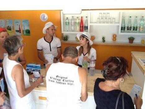 L'Hydrastation de Danone en tournée sur les plages | streetmarketing | Scoop.it