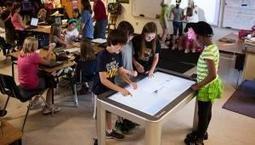 Utilisation de tables interactives avec objets tangibles en école | E-learning | Scoop.it