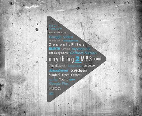 Convertidor y Descargador de SoundCloud y YouTube a MP3 en Línea | Anything2MP3 | De aquì, de allà y de otras partes... | Scoop.it