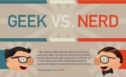 Geeks Vs Nerds Infographic | Top 5 Infographics | Scoop.it