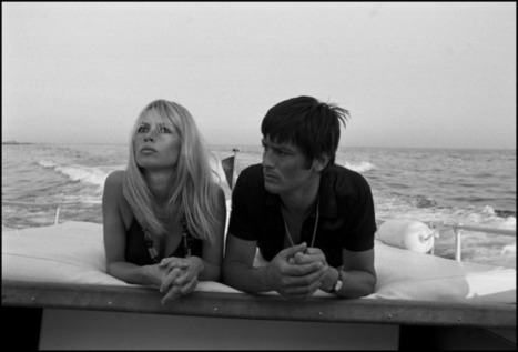 Bardot and Delon. | Sight For Sore Eyes | Scoop.it