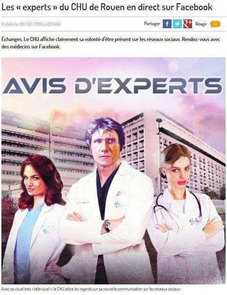 Les réseaux sociaux et le monde hospitalier : un savant dosage à trouver. | Communication Santé | Scoop.it