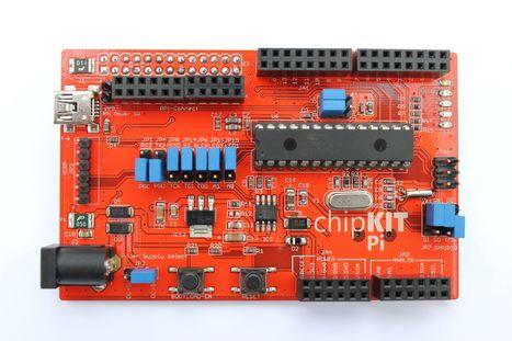 Microchip Technology Inc. - Raspberry Pi® chipKIT™ Expansion Board is World's 1st With Prototyping-Friendly 32-bit MCUs | Arduino, Netduino, Rasperry Pi! | Scoop.it