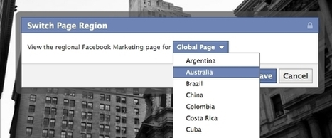 Facebook Testing Region-Specific Versions Of Pages - AllFacebook | Everything Facebook | Scoop.it