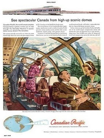 Seeking sanity vintage travel by train posters for Vintage train posters