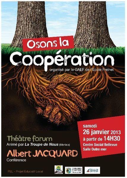 Et si coopérer rendait heureux ? Conférence d'Albert JAQUARD   Economie Responsable et Consommation Collaborative   Scoop.it