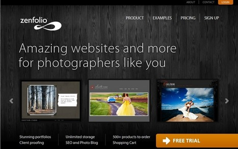 Top 10 Sites To Create Online Photography Portfolio   Photography-IYW   Scoop.it