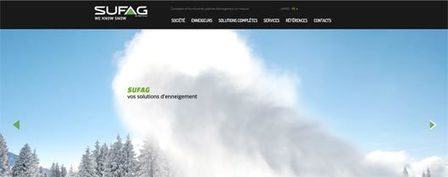 SUFAG is proud to present its new website! | Sufag | MND Group | Scoop.it