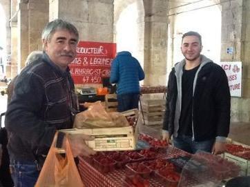 J'accompagne Michel Arsuffi au Marché de Fleurance | Les Tables du Gers | Scoop.it