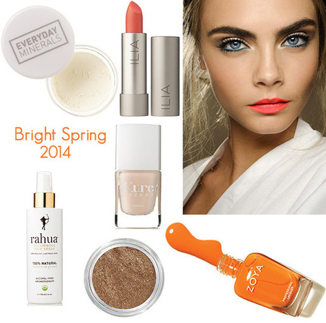 5 Spring Beauty Trends You Will Love | Organic Beauty | Make Up Fantasy | Scoop.it