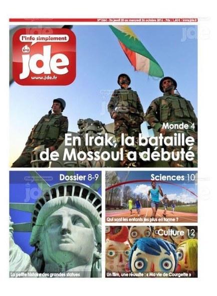JDE n°1564 (20 au 26 octobre 2016) | Les revues de la médiathèque | Scoop.it