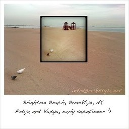Brighton Beach NY and How to Make It in the Art World   @FoodMeditations Time   Scoop.it