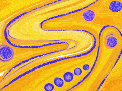 Interacting with texture | Christine Martell | iPad for Art | Scoop.it