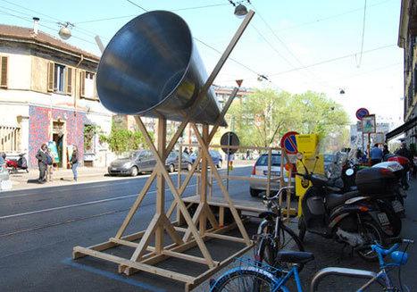 Urban Mobile Megaphone   DESARTSONNANTS - CRÉATION SONORE ET ENVIRONNEMENT - ENVIRONMENTAL SOUND ART - PAYSAGES ET ECOLOGIE SONORE   Scoop.it