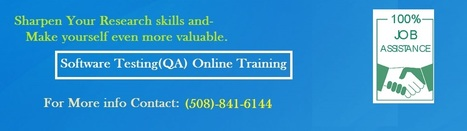 QA Training OnlineUSA | IT Online Training | Scoop.it