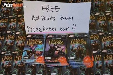 How To Get Free Riot Points For League of Legends | League of Legends | Scoop.it