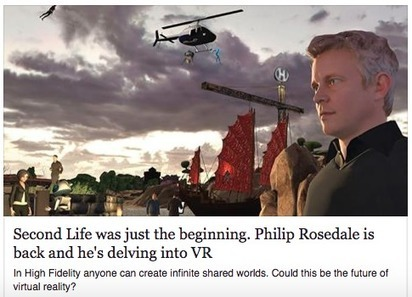 Sansar, High Fidelity... Second Life Reborn | 3D Virtual-Real Worlds: Ed Tech | Scoop.it