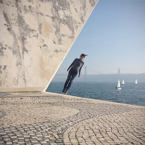 Fantastic iPhone Photos of People Floating in Mid-Air | photography in a digital world | Scoop.it