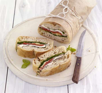 Pressed picnic sandwich | Posh Picnics | Scoop.it
