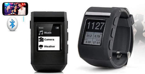 $80 Zebble WaterProof Smartwatch Features an E-Paper Display, Just like the Pebble… | Embedded Systems News | Scoop.it