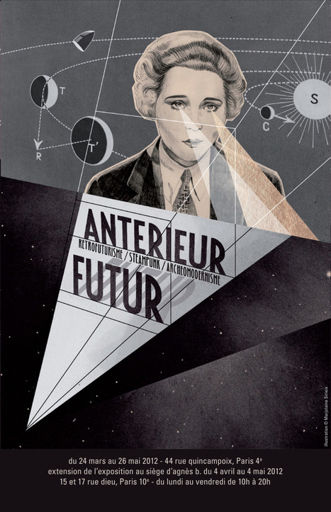 ARCHEOLOGIE DU FUTUR : L'EXPO FUTUR ANTERIEUR | Art + Graphisme + Design | Scoop.it