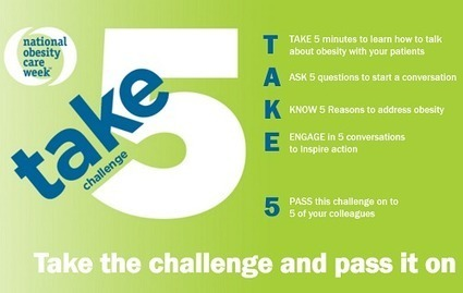 Take 5 for National Obesity Care Week - ConscienHealth | Weight Loss News | Scoop.it