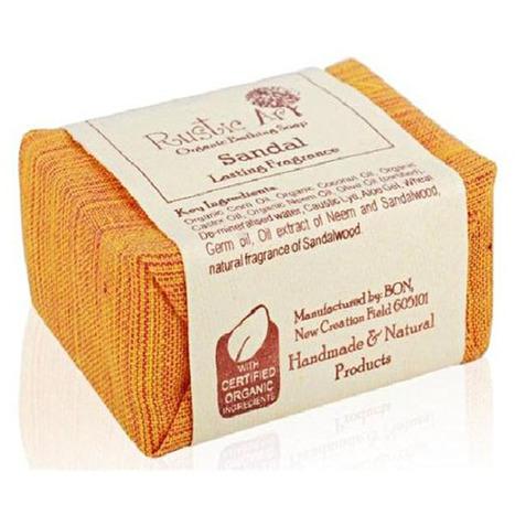 Rustic Art Sandal Organic Bathing Soap – Handmade sandal bath soap | super-deals-in-india-online-shopping-for-best-deals | Scoop.it