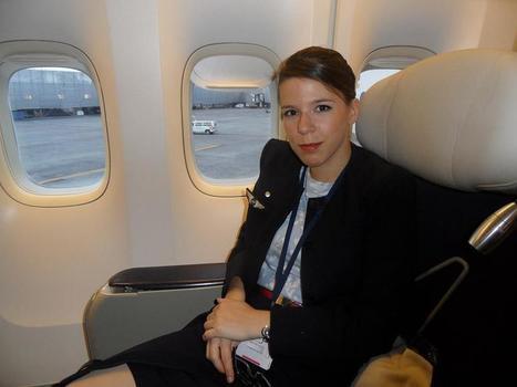 Devenir hôtesse de l'air chez Air France pendant l'été: l'incroyable expérience d'Angélique ! | Articles du blog | Scoop.it