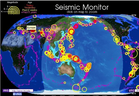 IRIS Seismic Monitor | 8th Grade Earth Science | Scoop.it