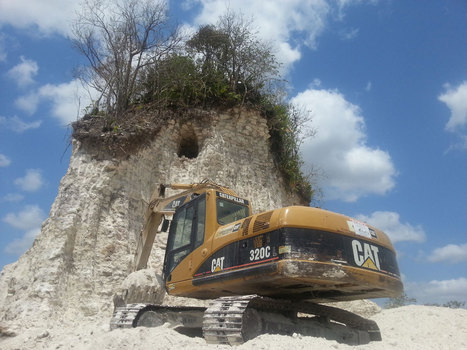 No More Noh Mul? Contractor Bulldozes Mayan Temple : Archaeology News from Past Horizons | Archaeology News | Scoop.it