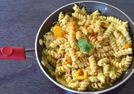 Food La La: Making vegan mac and cheese | My Vegan recipes | Scoop.it