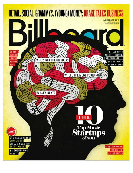 Discovr is one of the 10 Top Music Startups of 2011 (Billboard Magazine) | Discovr | A Shift in Recording | Scoop.it