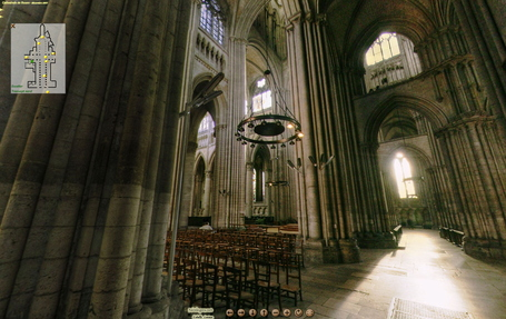 Cathedrale de Rouen - 10 Visites virtuelles - panoramique spherique 360 | Rouen | Scoop.it