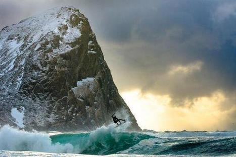 Twitter / EarthBeauties: Surfing in Norway ... | Adventure Sports & Travel | Scoop.it