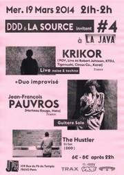 ITW - DDD, Krikor ou De la nécessité de soutenir sa scène locale... | La Java - Paris | Scoop.it