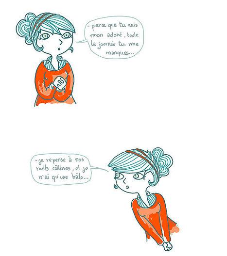 parce que l'amour, y'a qu'ça de vrai | BD de filles | Scoop.it