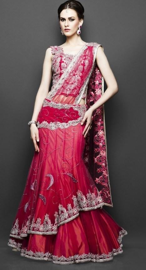 Latest Trends In Indian bridal Wear Dresses | zarilane | Scoop.it