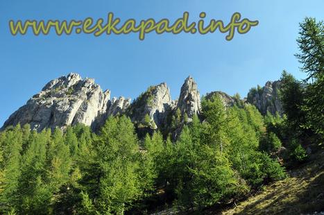 Topo RANDO : Les aiguilles de Chabrières (05) | Topo et fiche de randonnée à pied by eskapad | Scoop.it