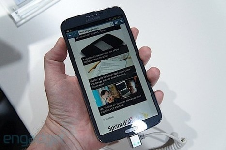 Samsung Galaxy Mega hands-on (video) | Mobile Technology | Scoop.it